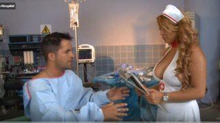 سكس نيك ممرضة في المستشفي من مريض هاج علي بزازها الكبيرة