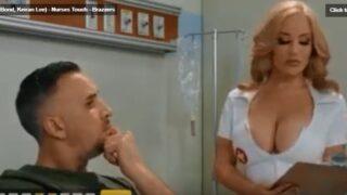 فيديو سكس ممرضة ممحونة بزازها كبيرة تتناك من المريض